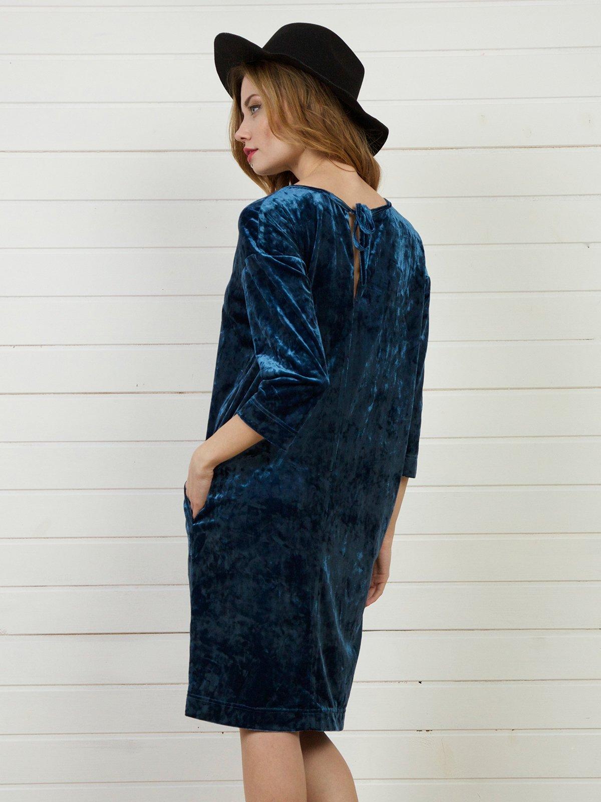 Платье синее   4141272
