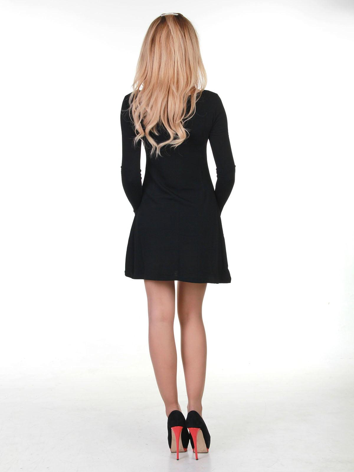 Платье черное | 3823423 | фото 2