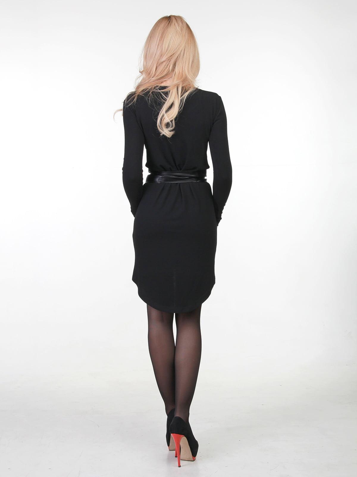 Платье черное | 3823432 | фото 2