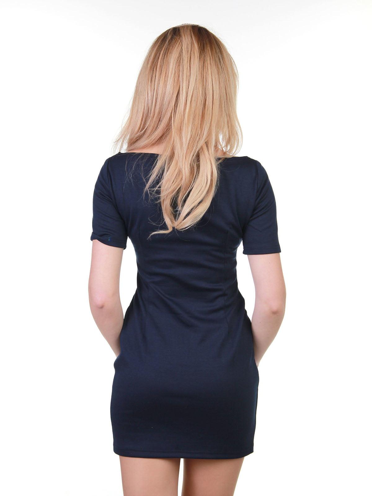Платье сине-белое в полоску | 3823437 | фото 3