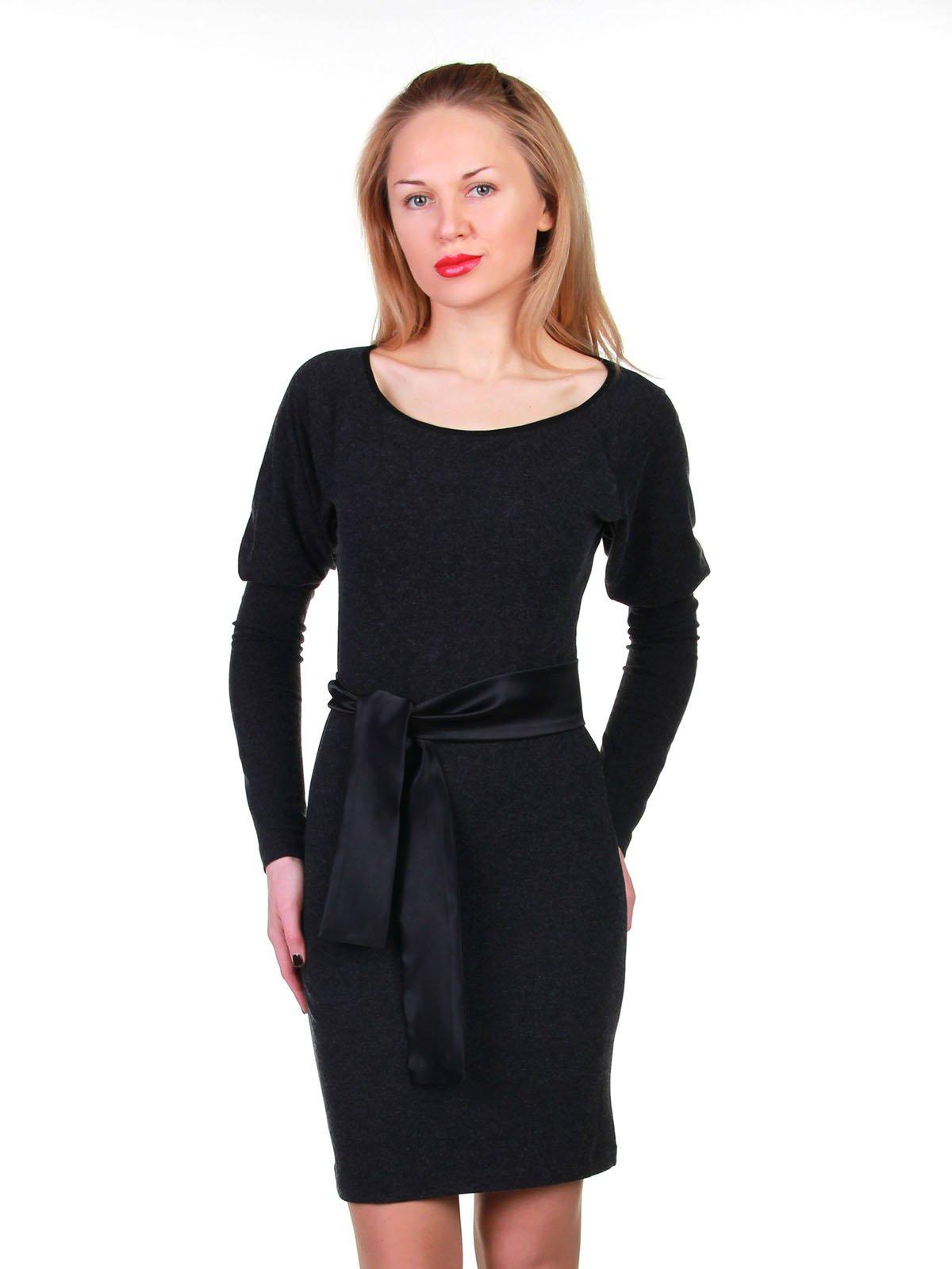 Сукня темно-сіра | 3823462