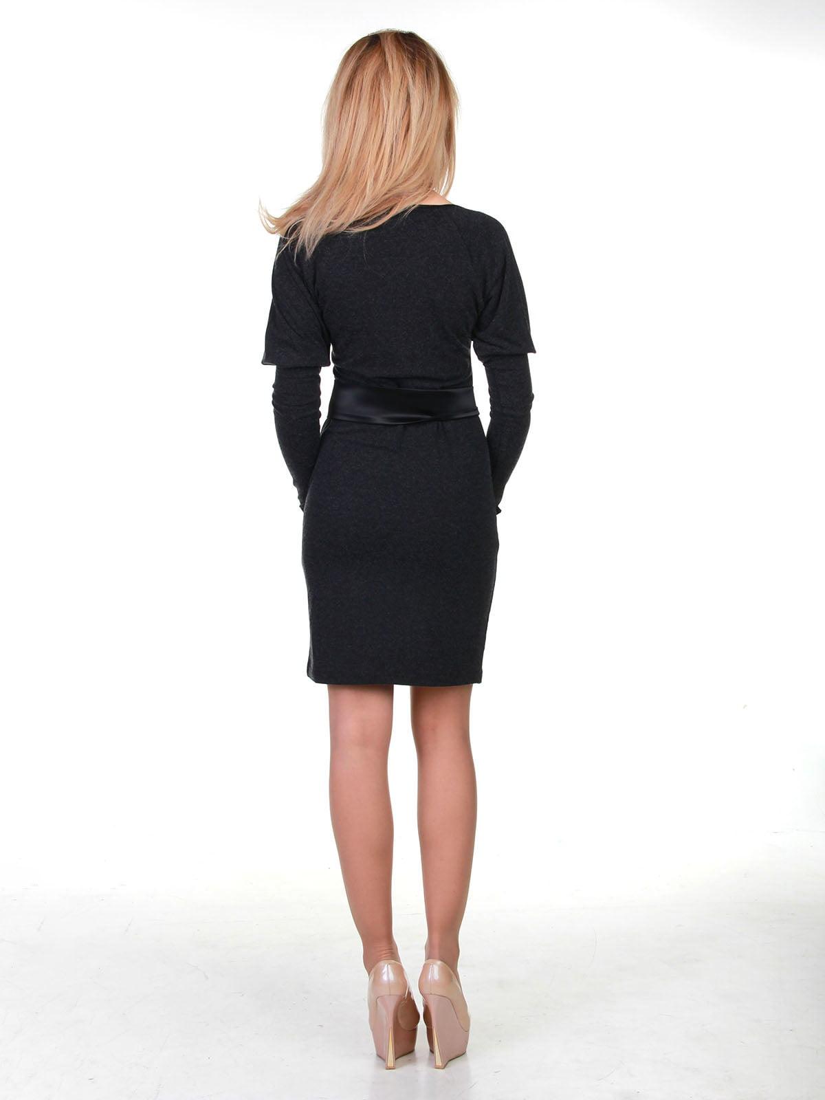Сукня темно-сіра | 3823462 | фото 2