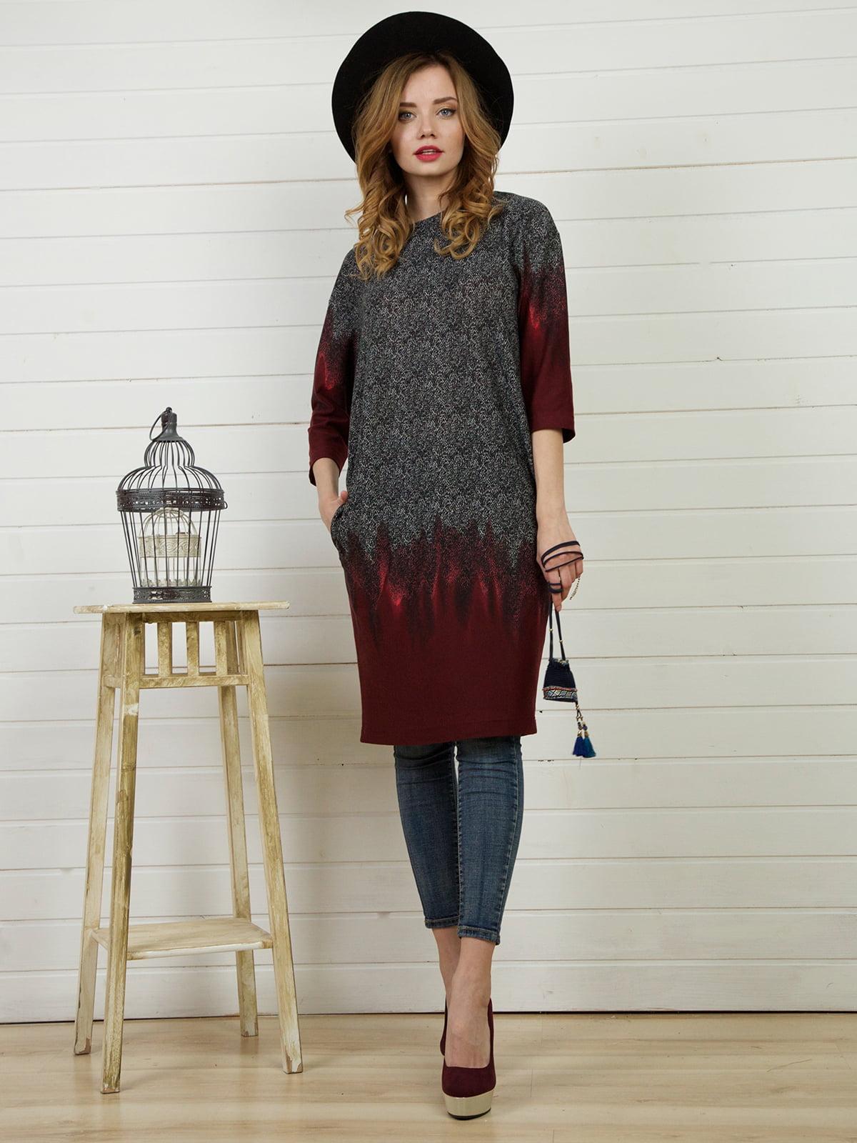 Платье серое | 4141269
