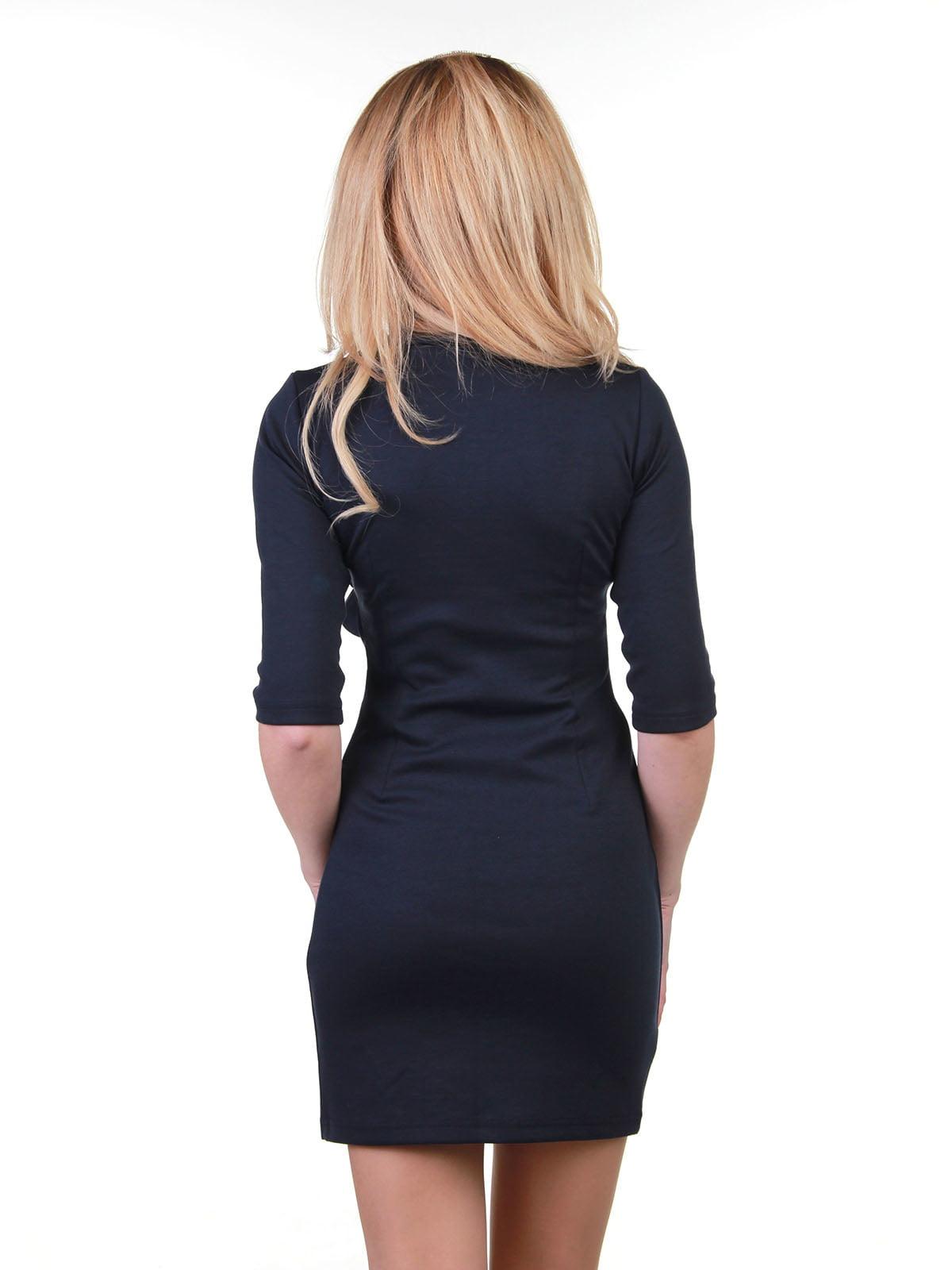 Платье темно-синее | 3823464 | фото 2