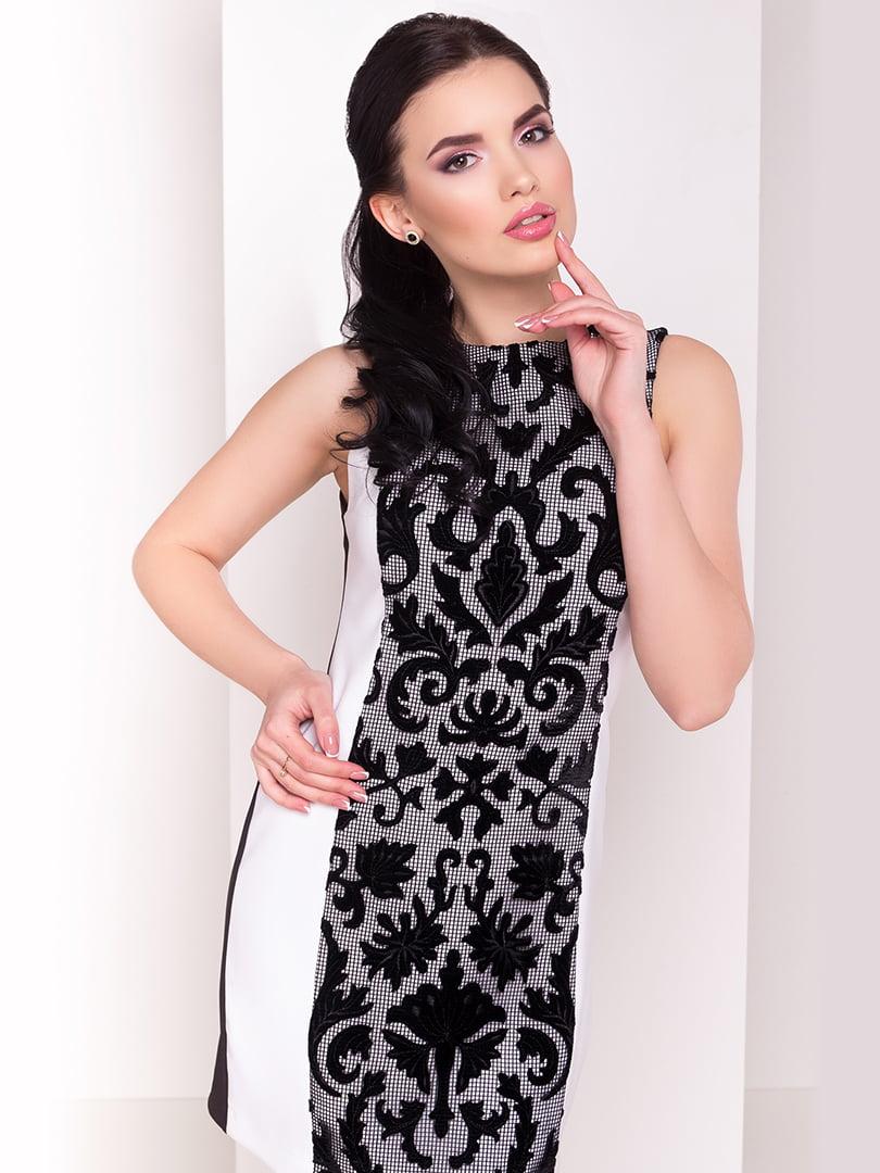 Сукня чорно-біла   4143612