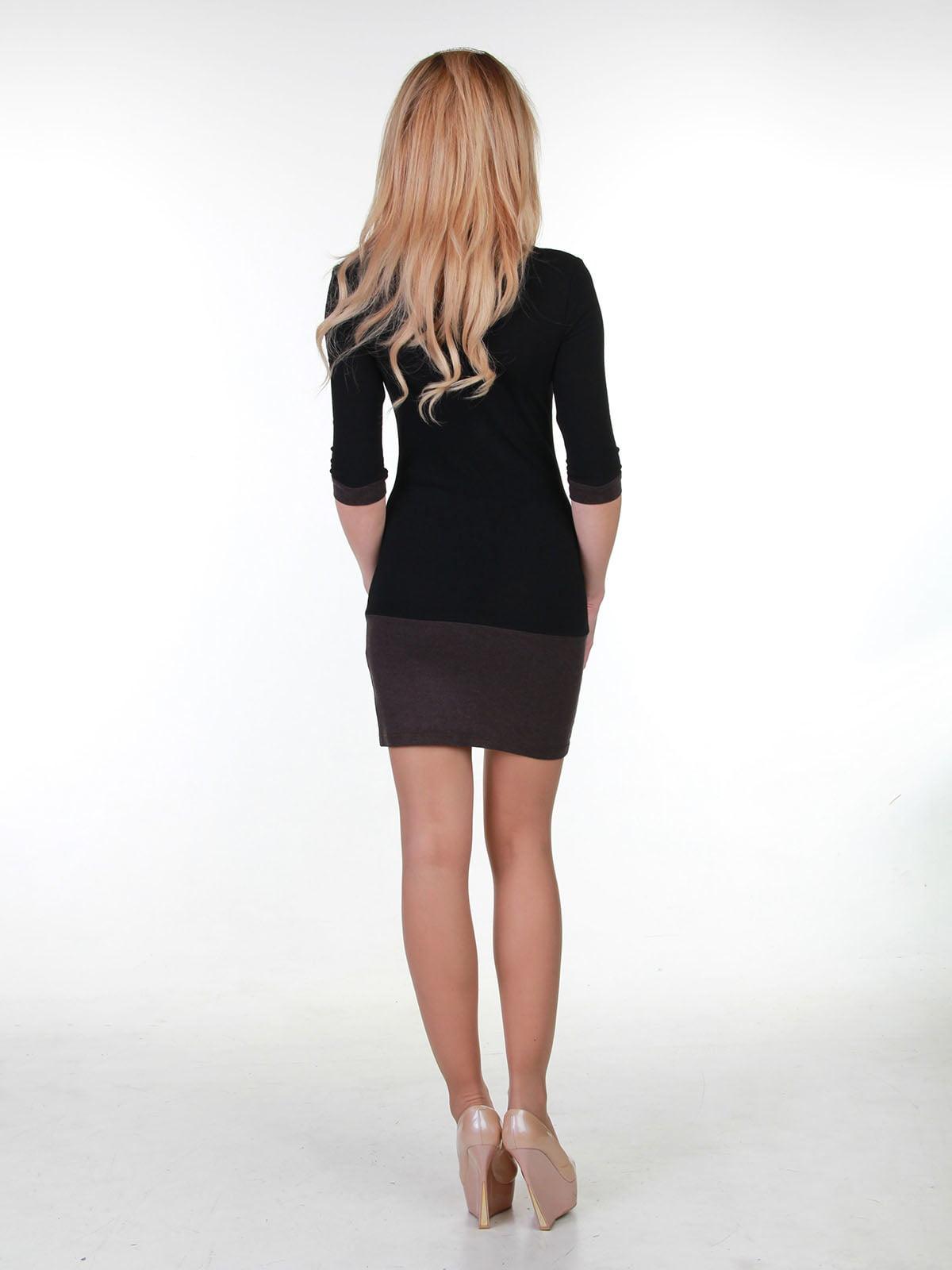 Платье двухцветное | 3823440 | фото 2