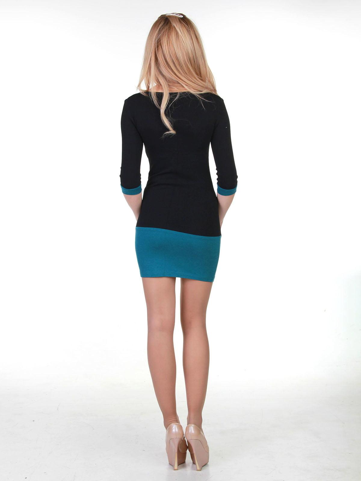 Сукня двоколірна | 3823443 | фото 2