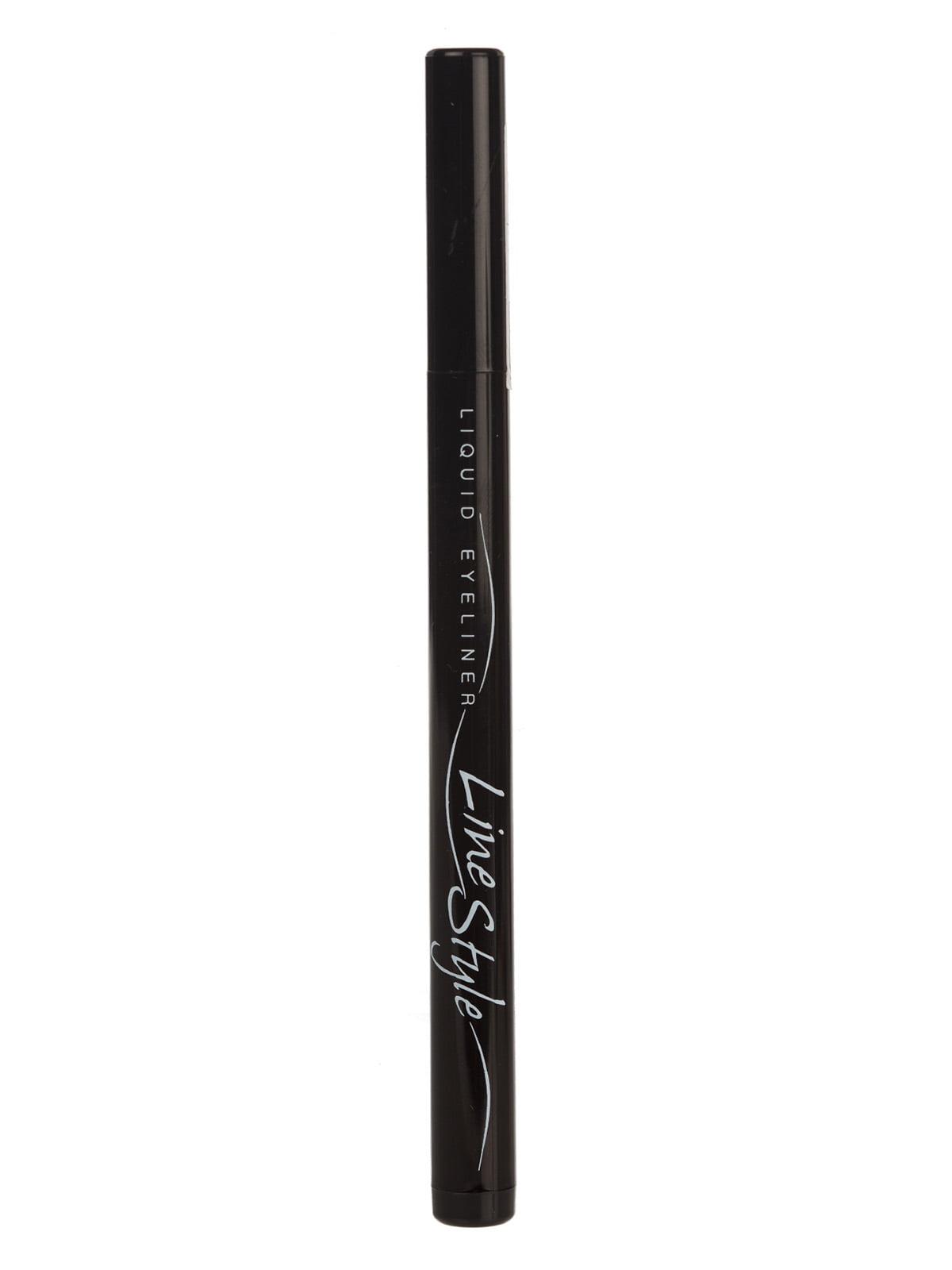 Підводка для очей «Лінія стилю» — чорна   3830096