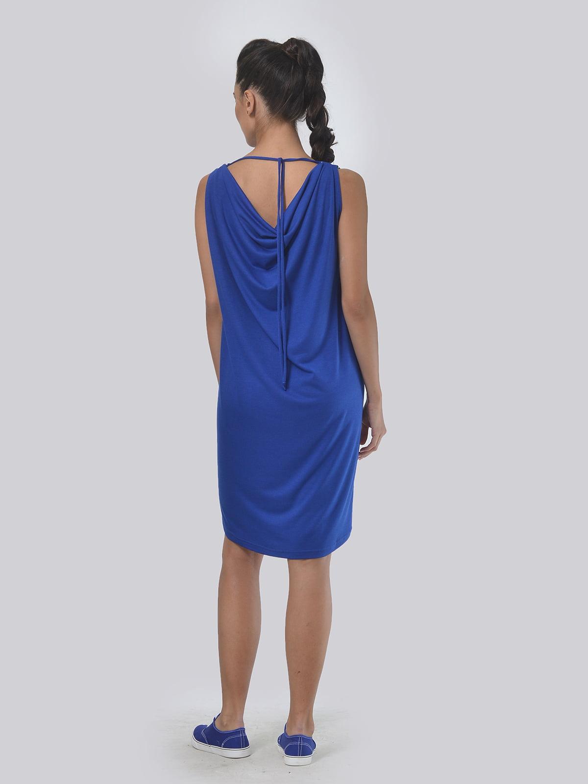 Платье синее в полоску | 4142089 | фото 3