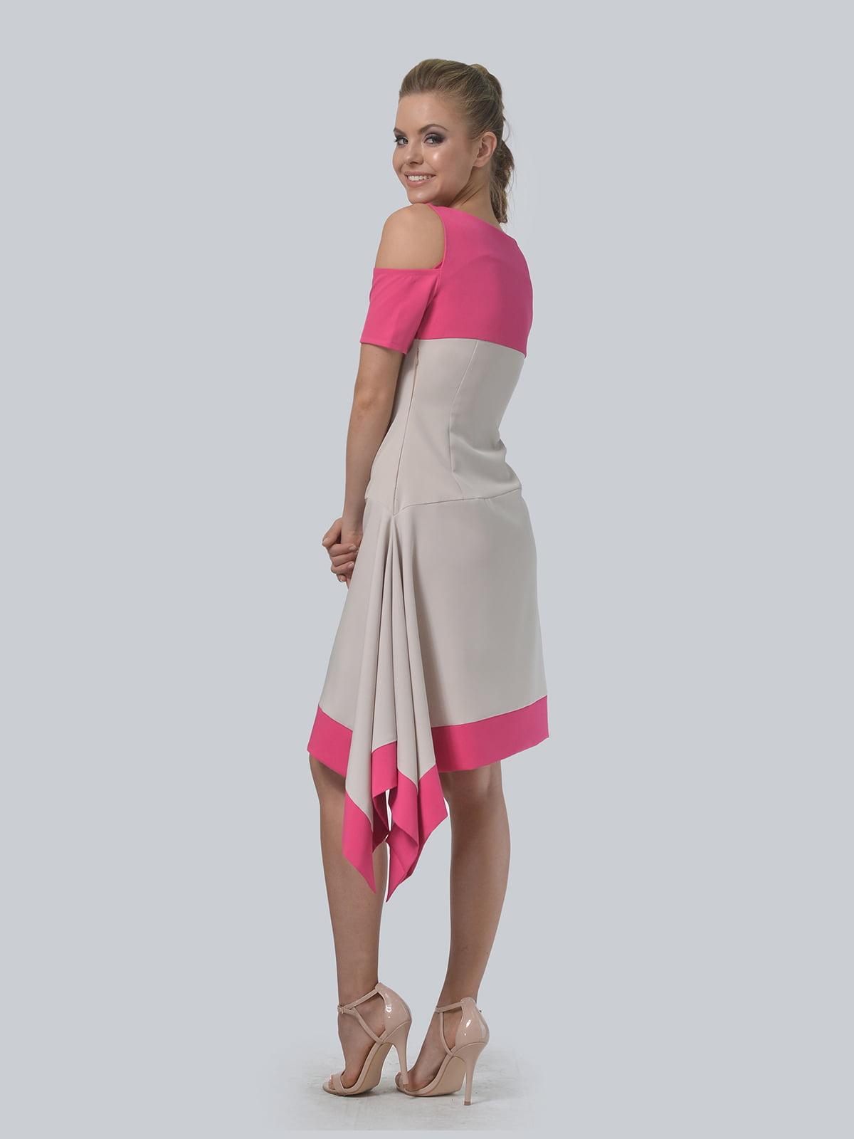 Платье двухцветное   4090706   фото 4