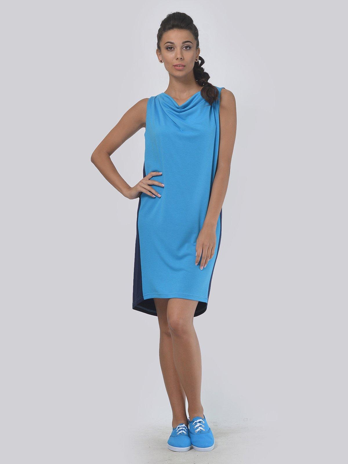 Платье двухцветное | 4142105