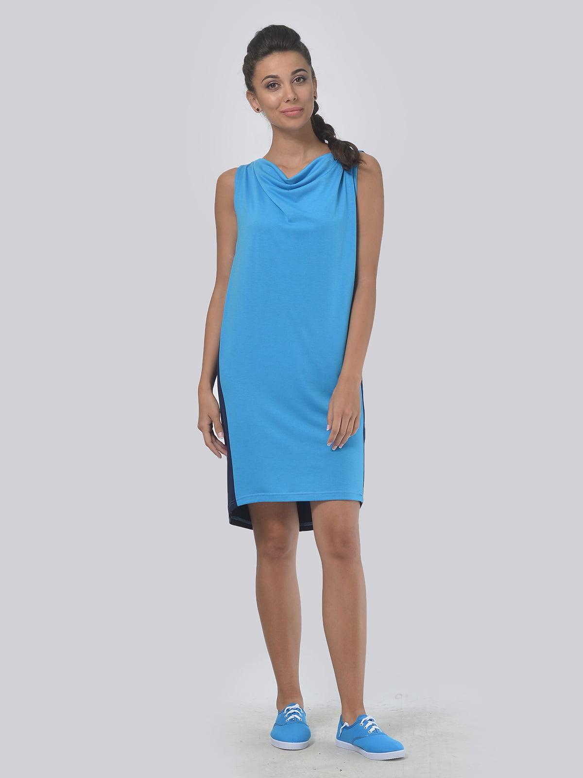Платье двухцветное | 4142105 | фото 2