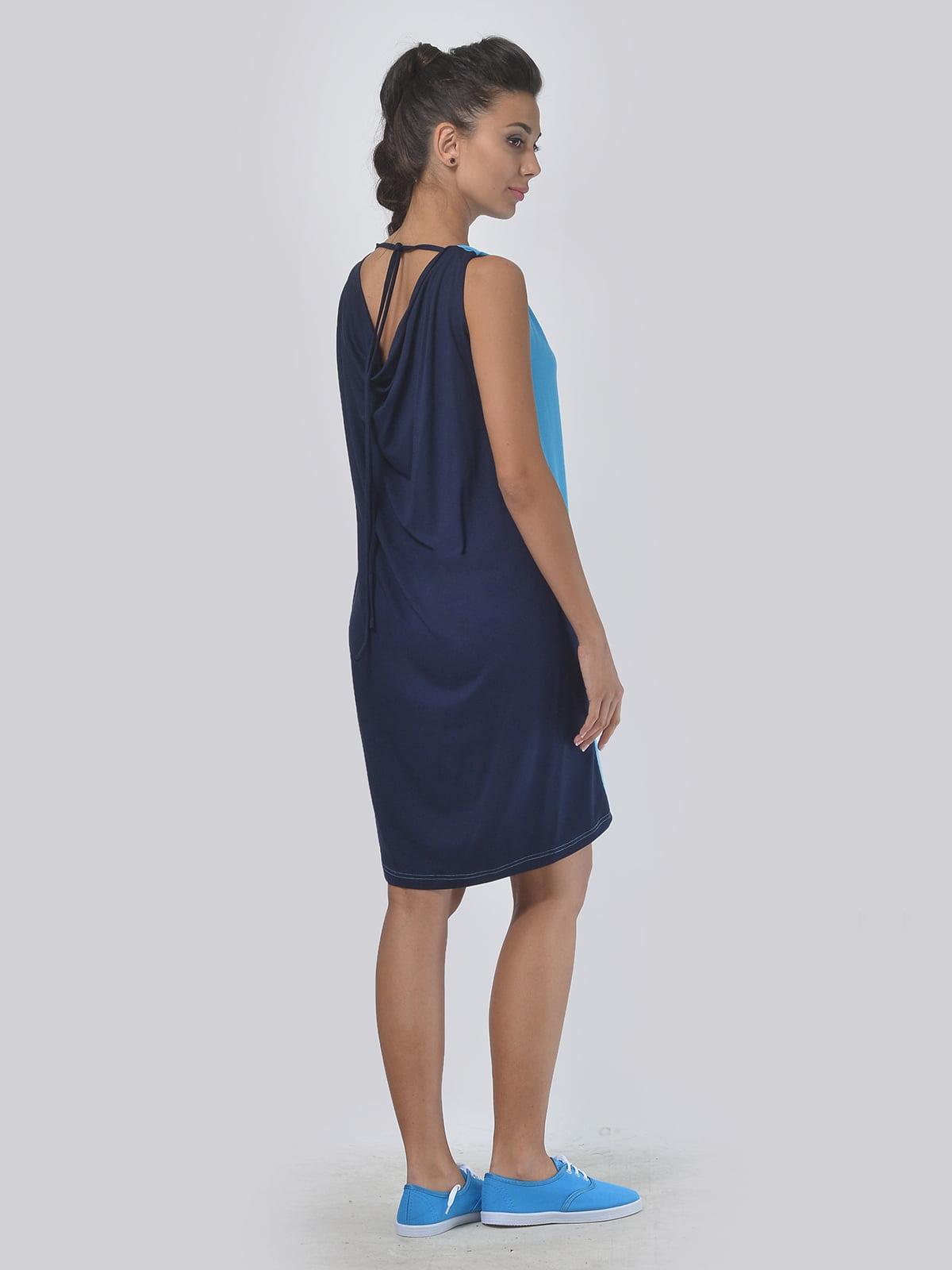 Платье двухцветное | 4142105 | фото 3