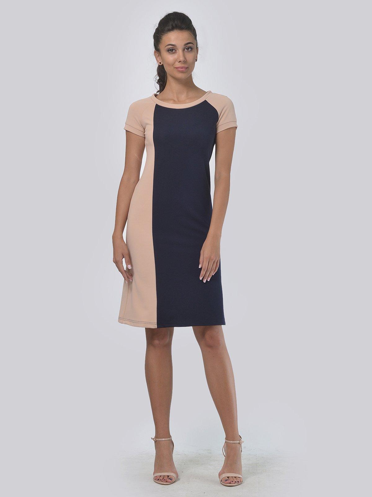 Платье двухцветное | 4142117