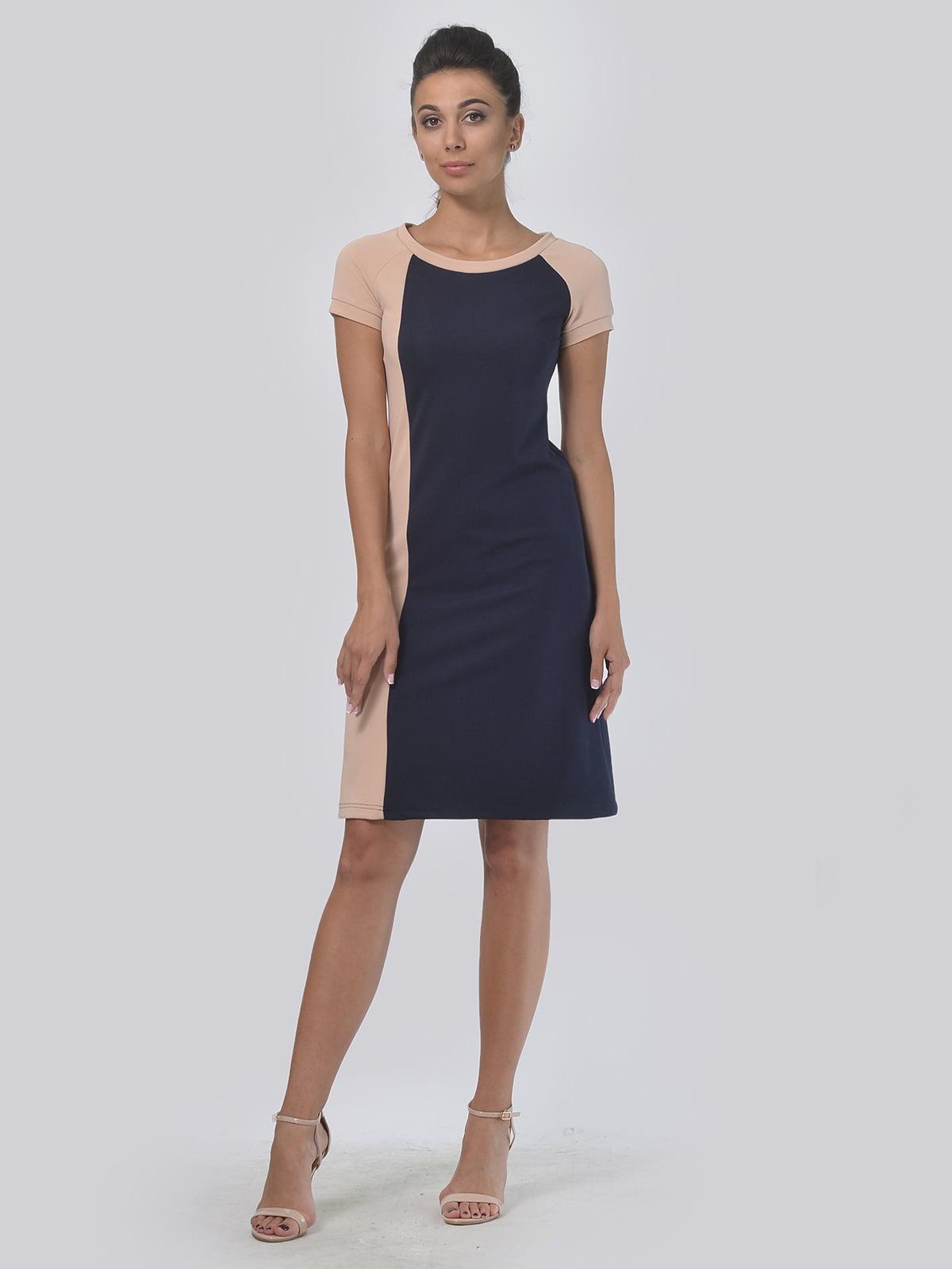 Платье двухцветное | 4142117 | фото 2
