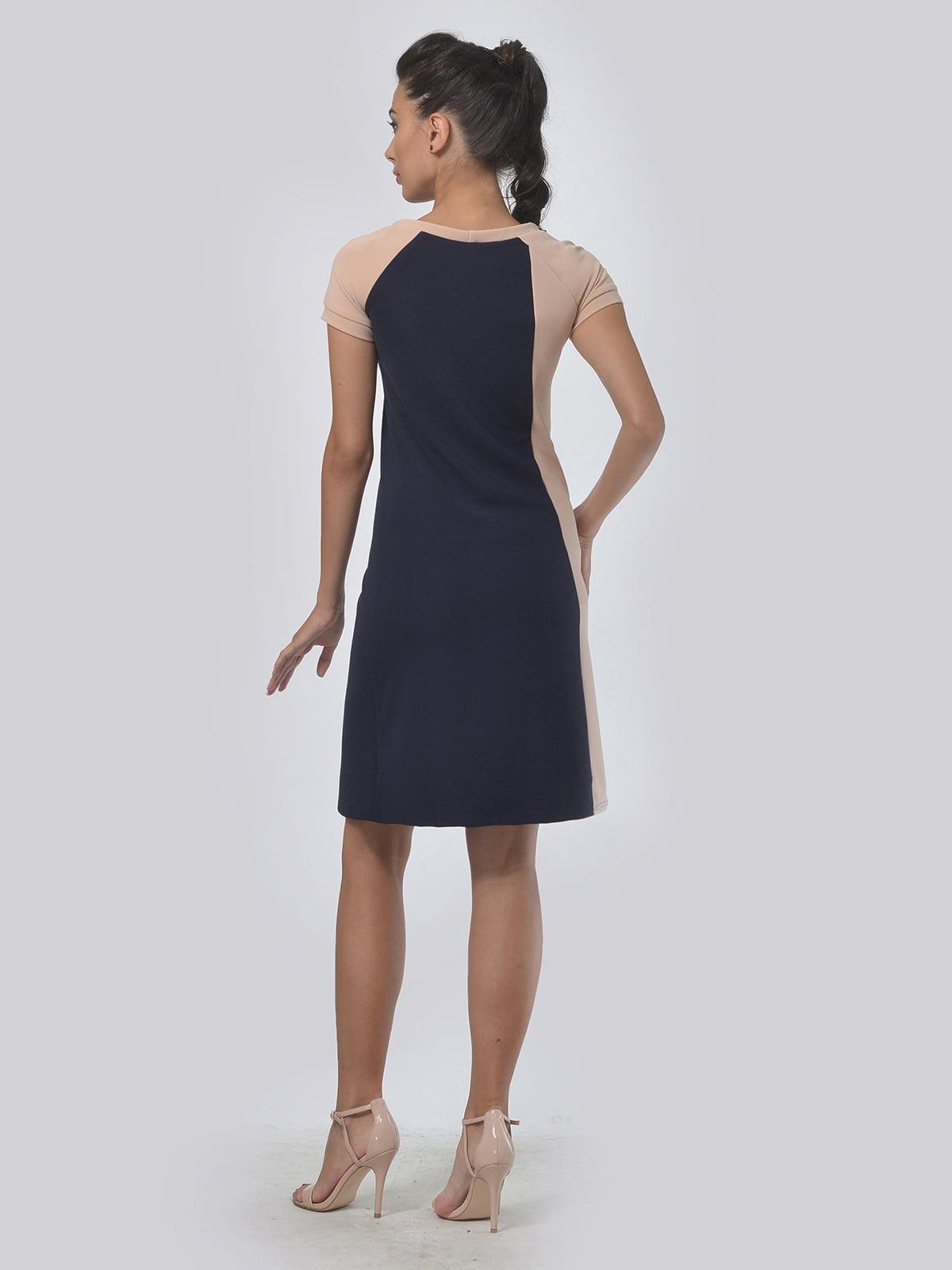 Платье двухцветное | 4142117 | фото 3