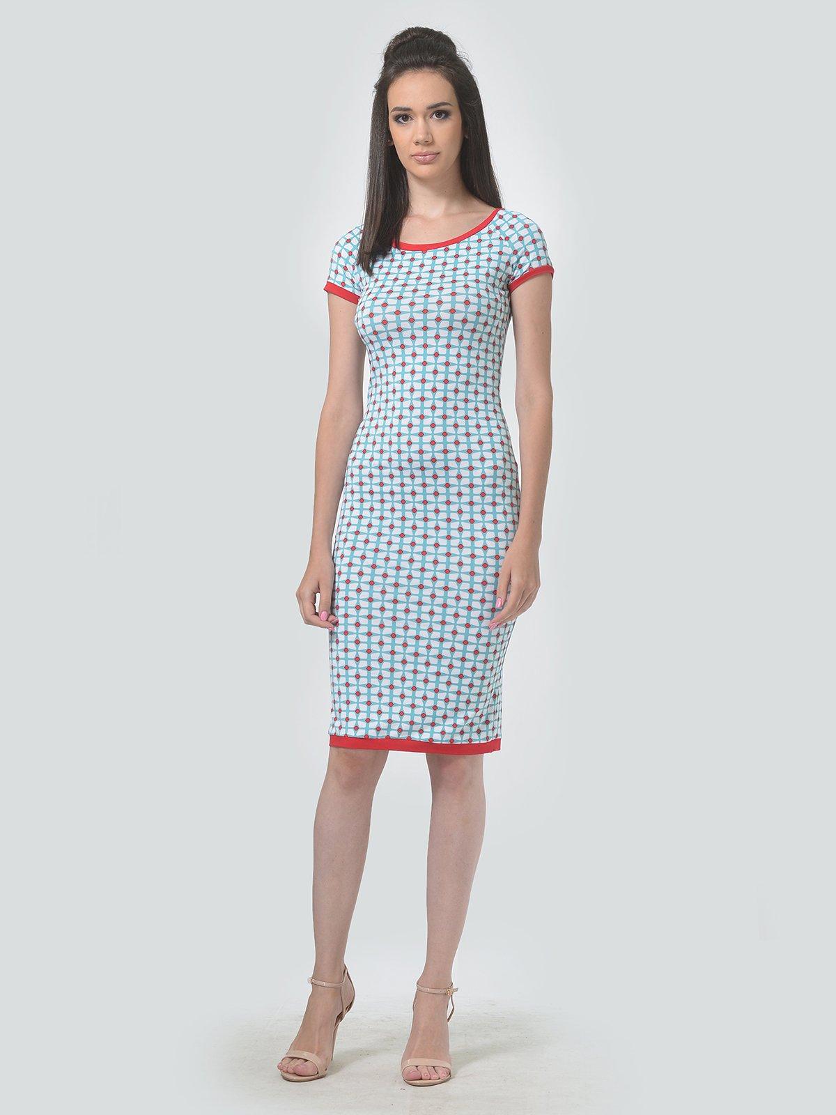 Платье в принт   4142120