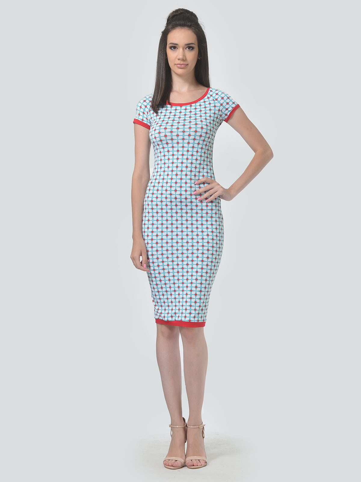 Платье в принт   4142120   фото 2