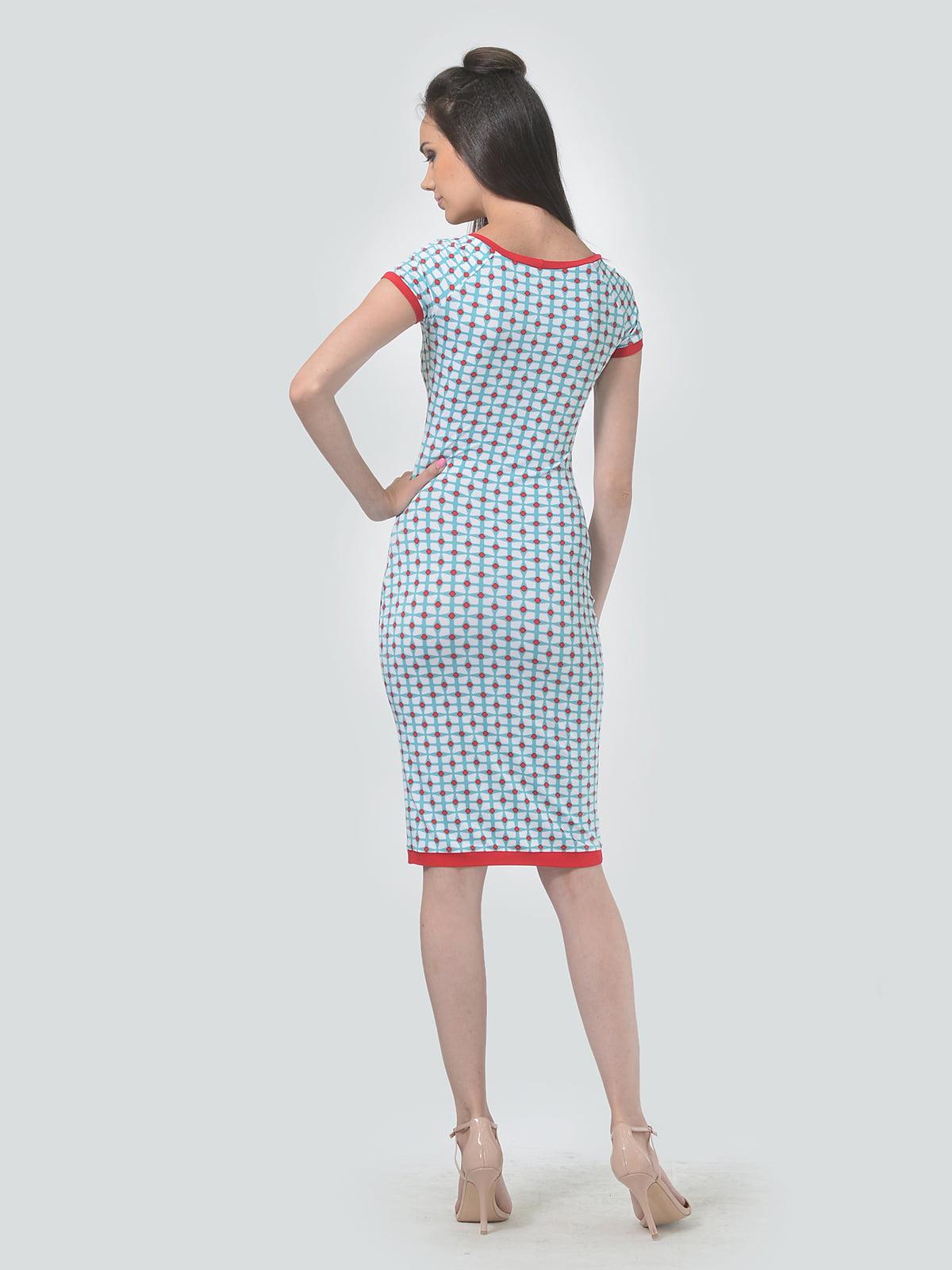 Платье в принт   4142120   фото 3