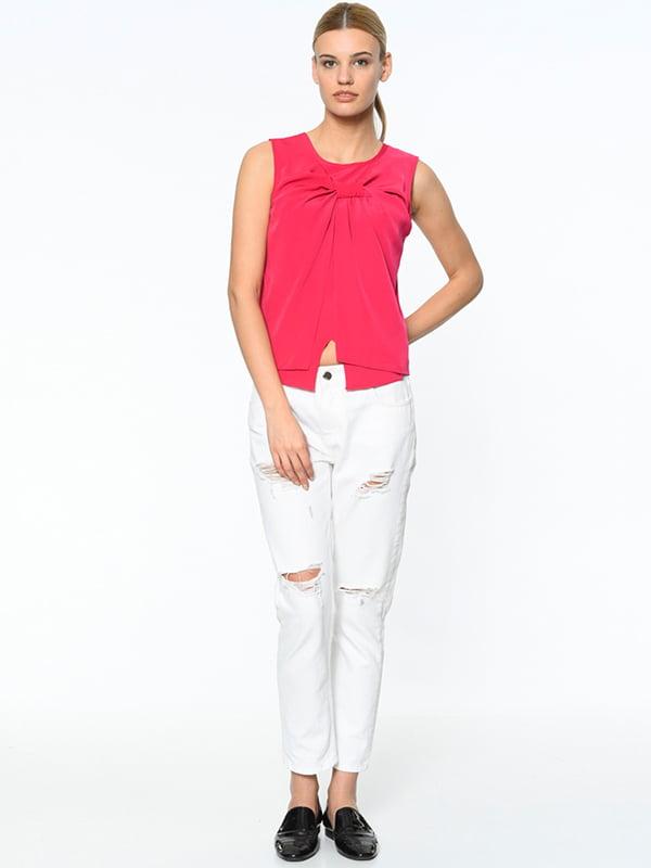 Блуза цвета фуксии | 4151164
