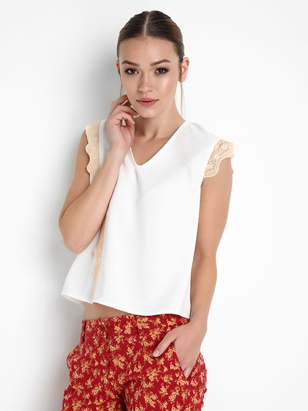Блуза белая | 4151324