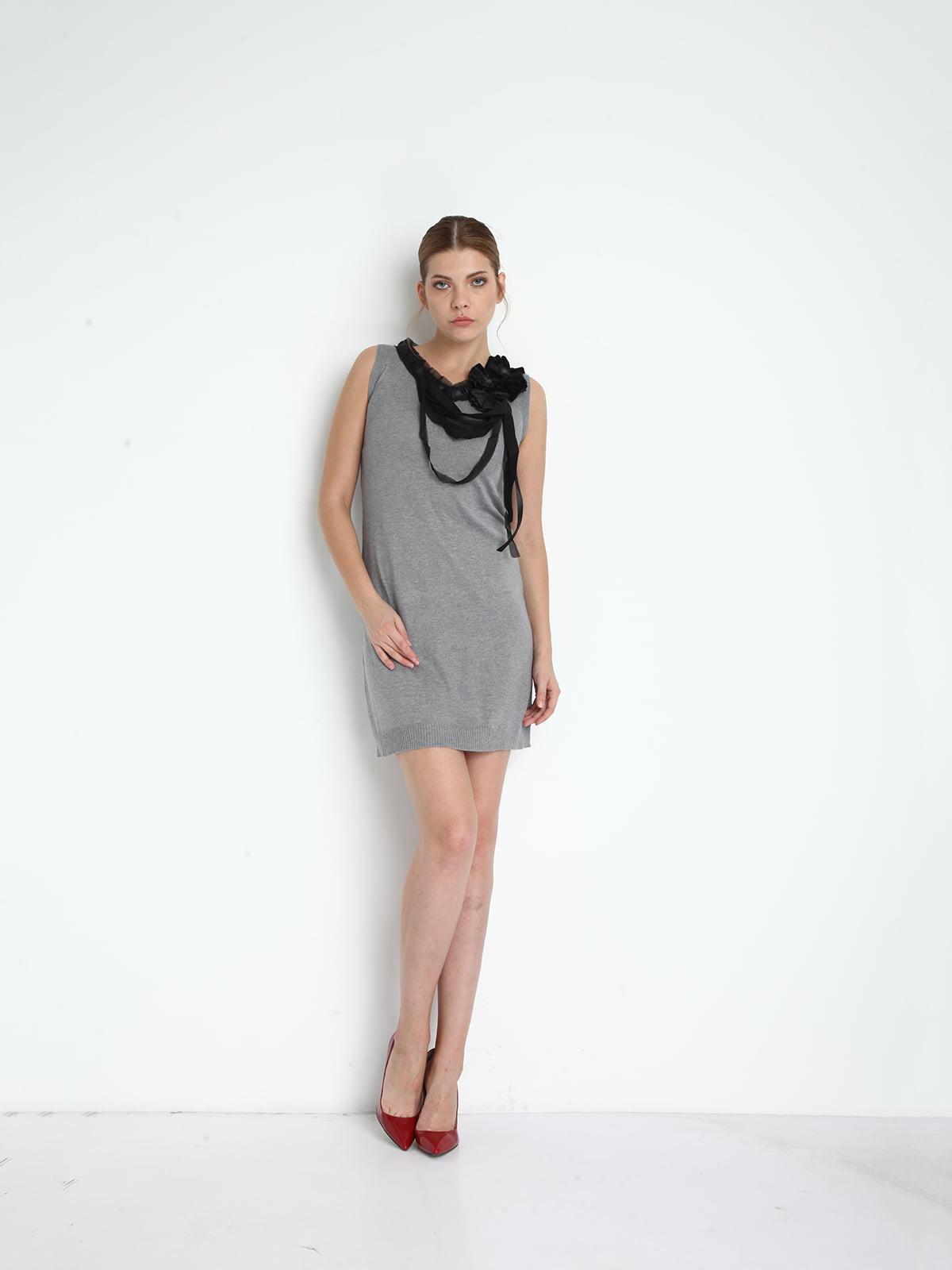 Сукня сіра   4151347