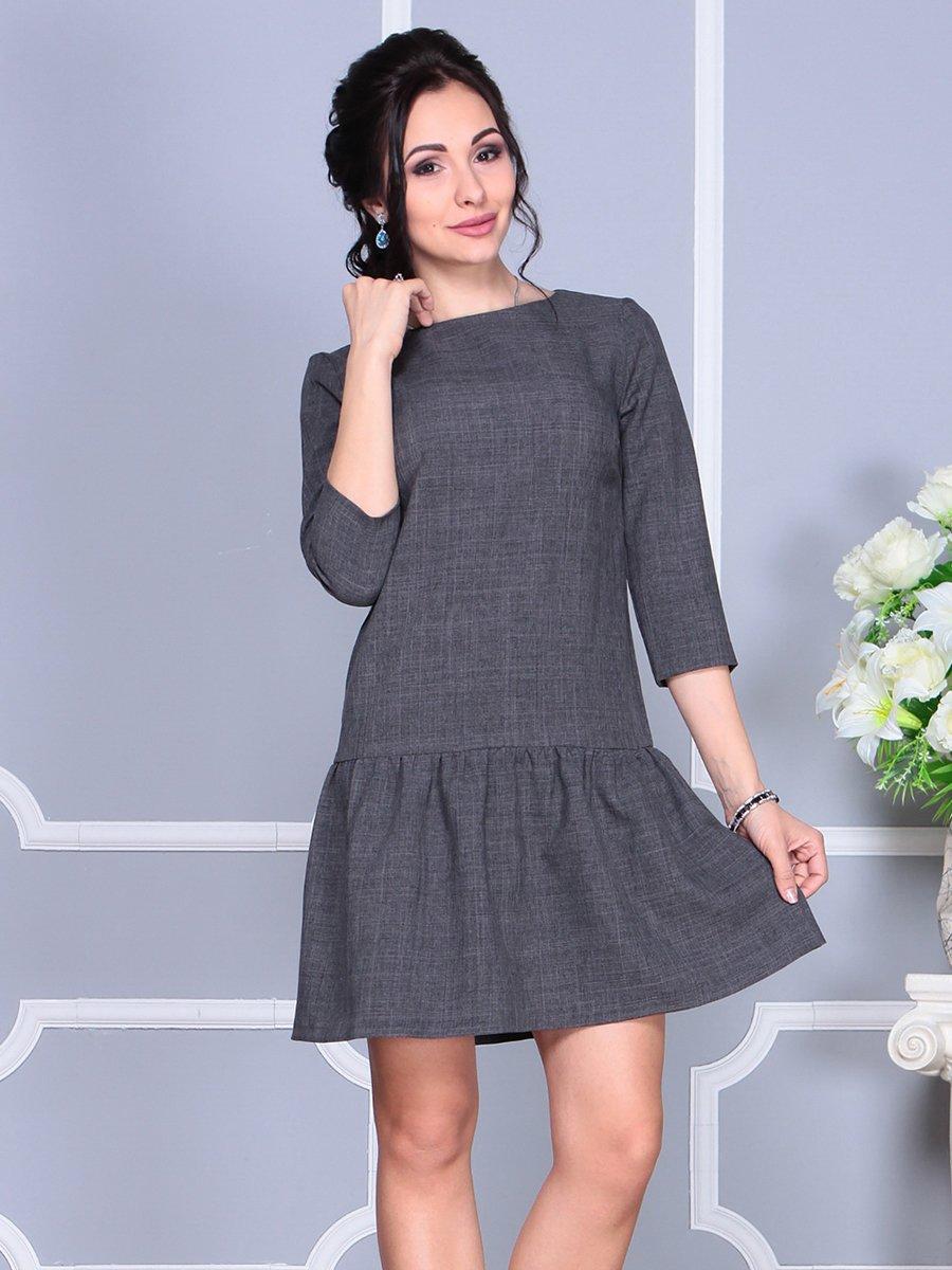 Сукня графітового кольору | 4152462