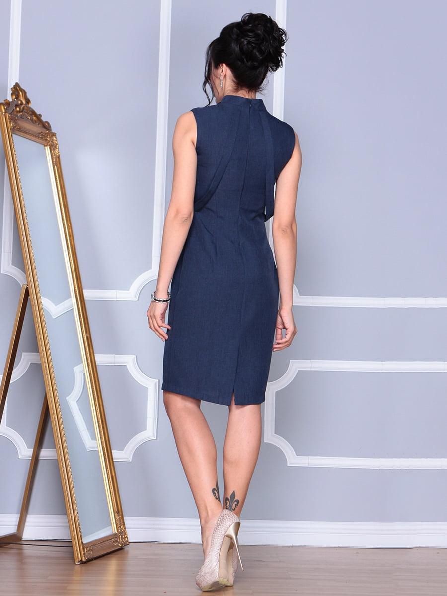 Платье темно-синее | 4152464 | фото 2