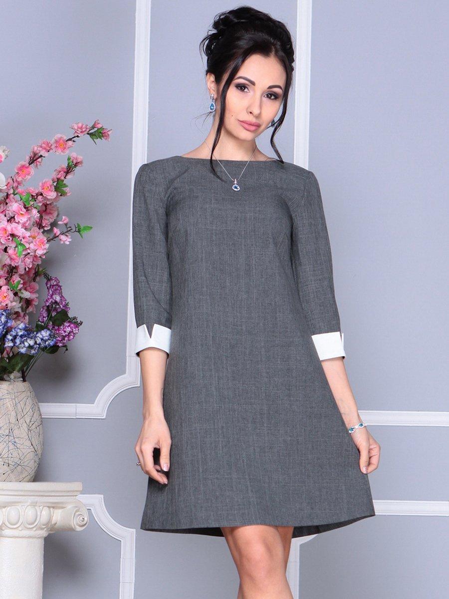 Сукня графітового кольору | 4152467