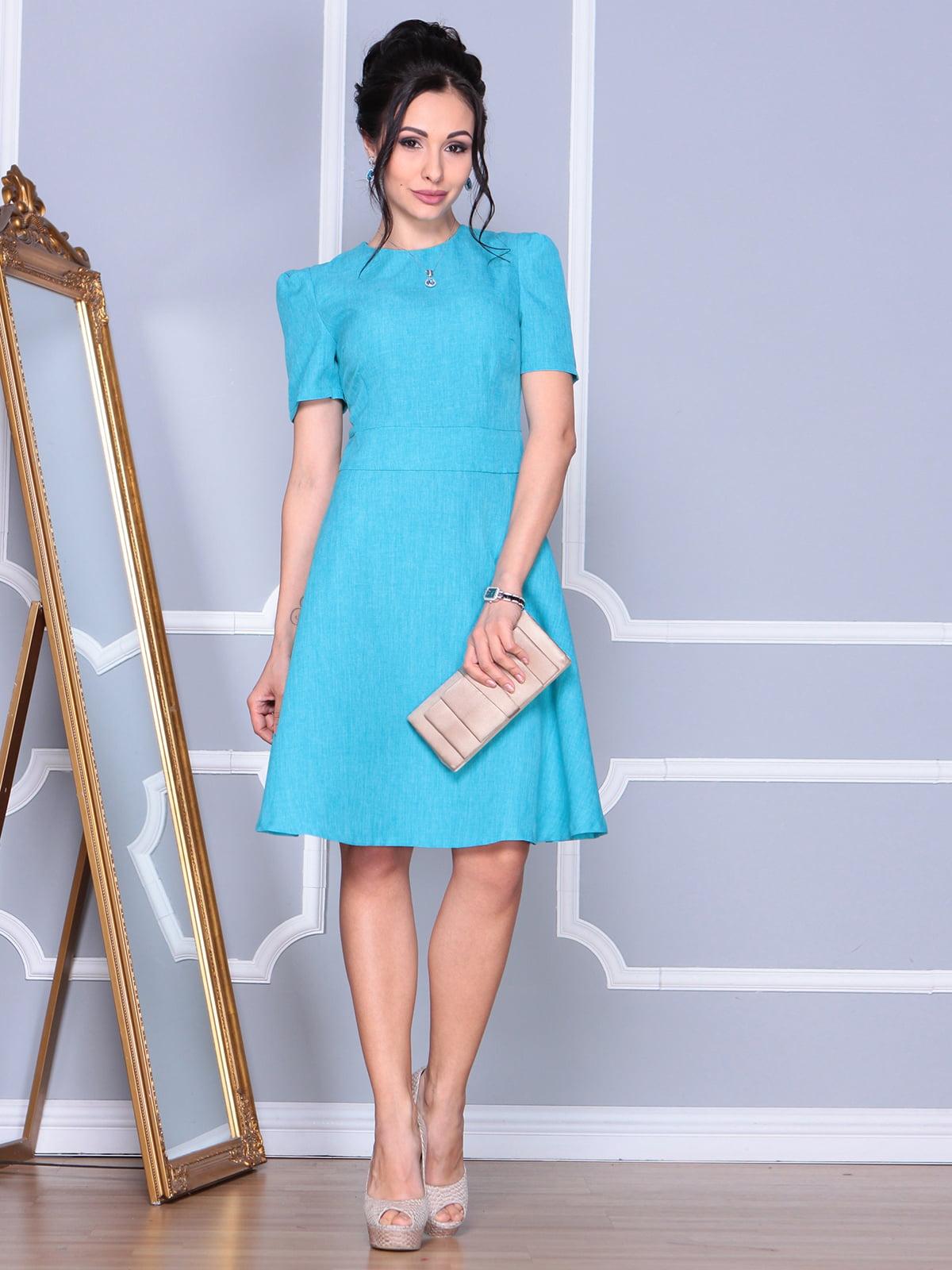 Сукня світло-бірюзова | 4156774
