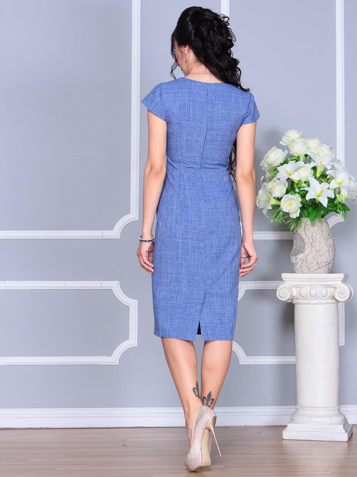 Платье синее | 4156785 | фото 2