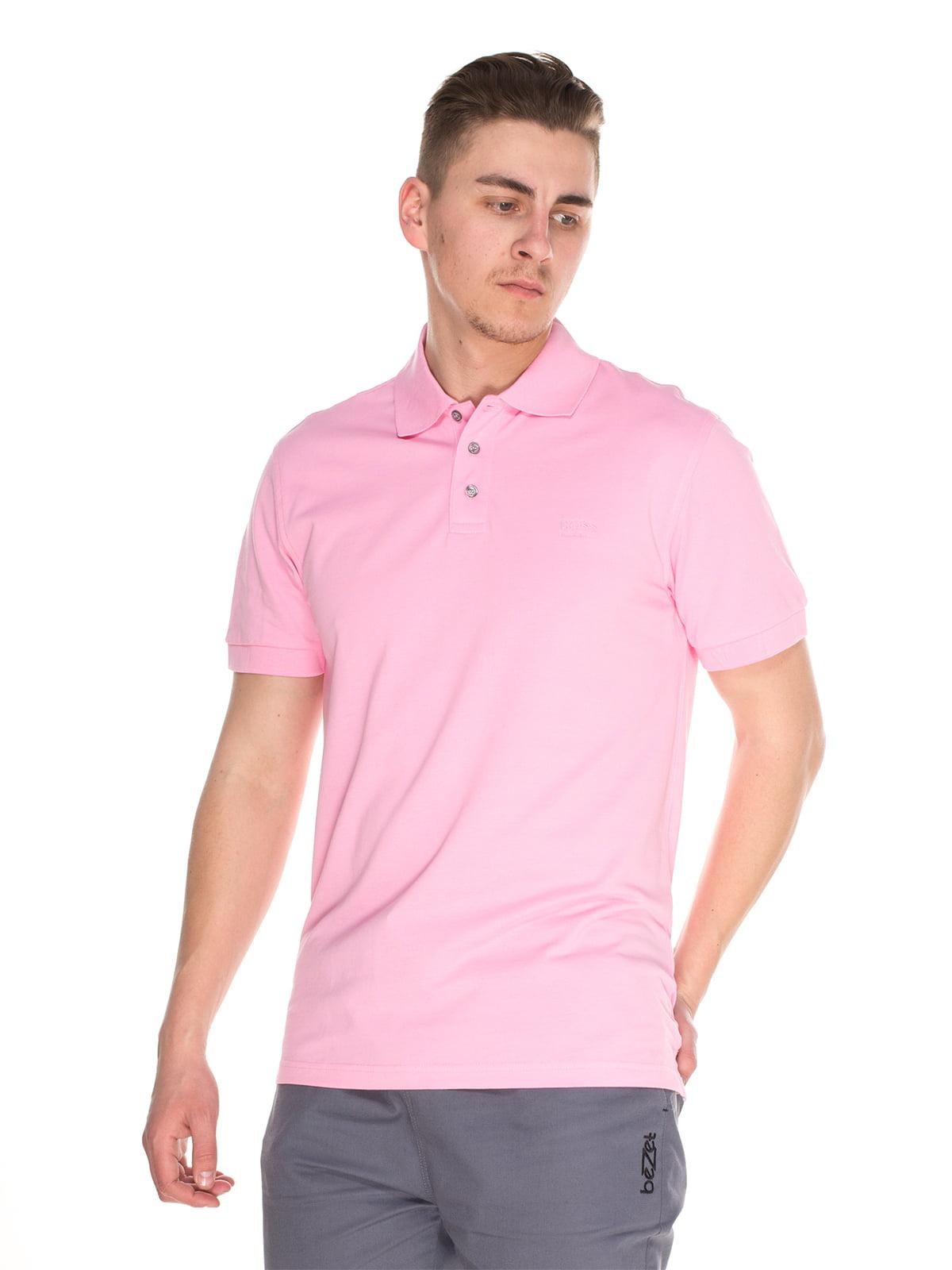 Футболка-поло розовая   4152589