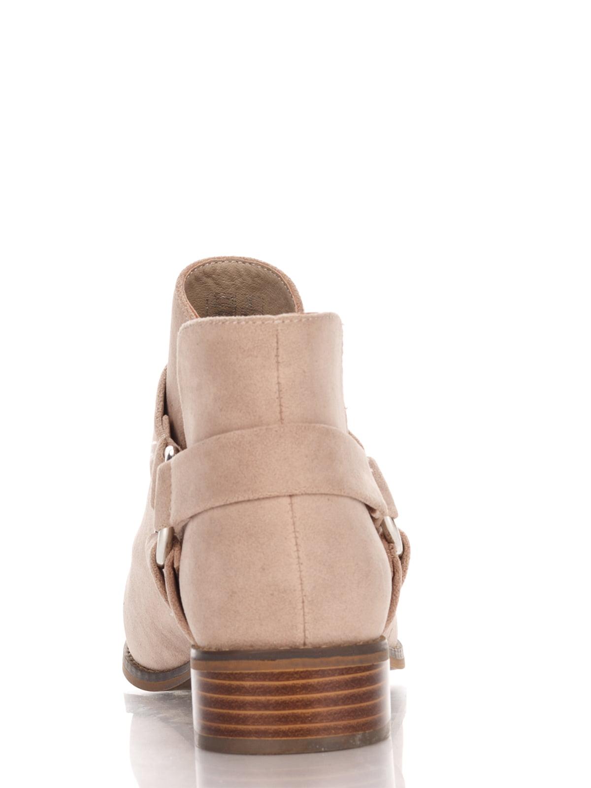 Ботинки бежевые | 4123509 | фото 3