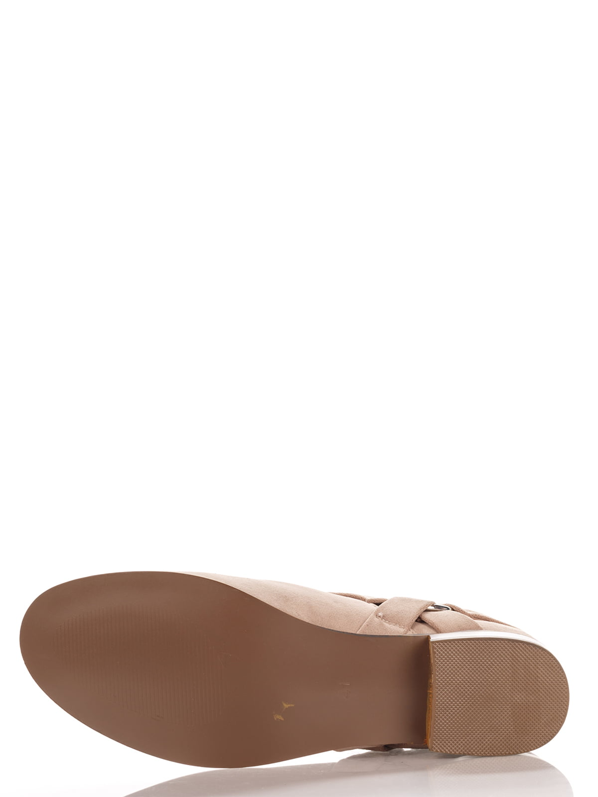 Ботинки бежевые | 4123509 | фото 4