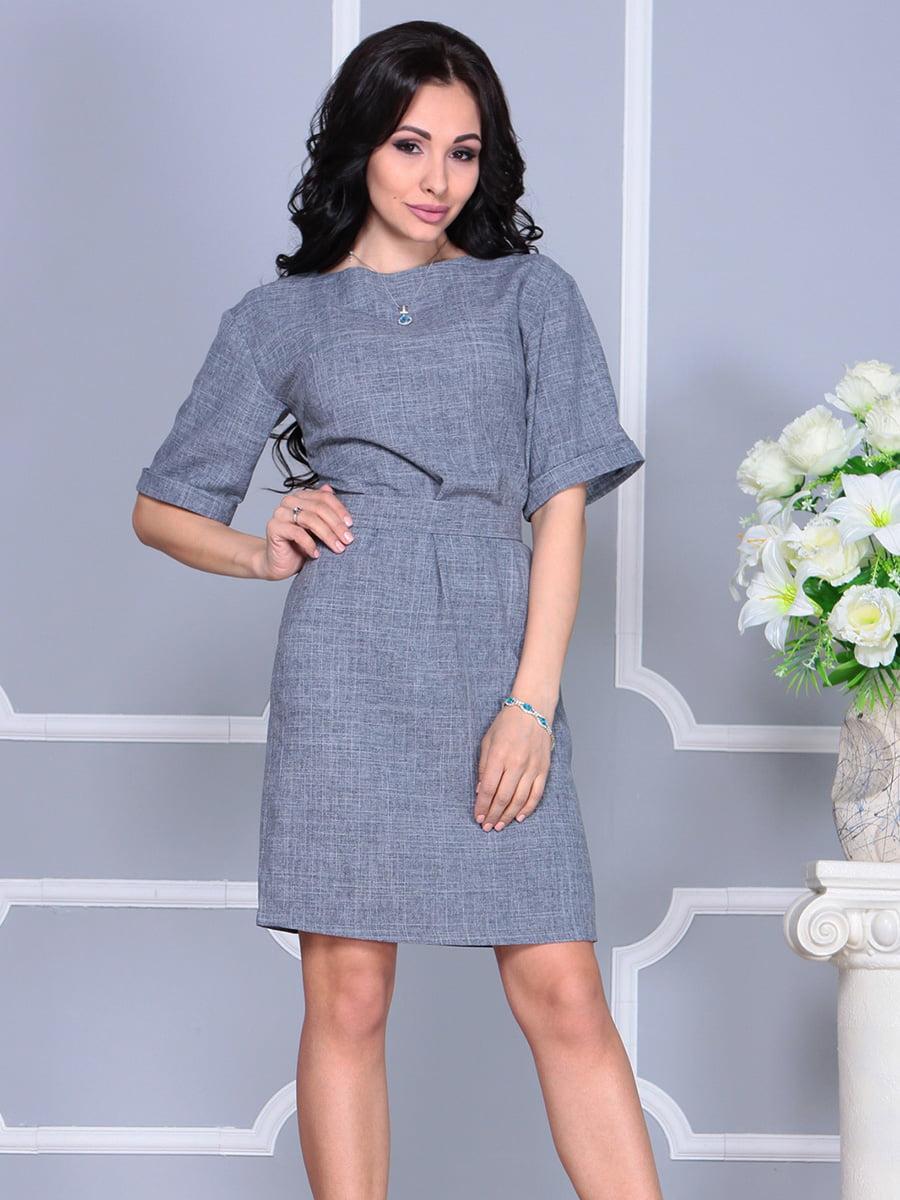 Платье дымчатого цвета | 4160884