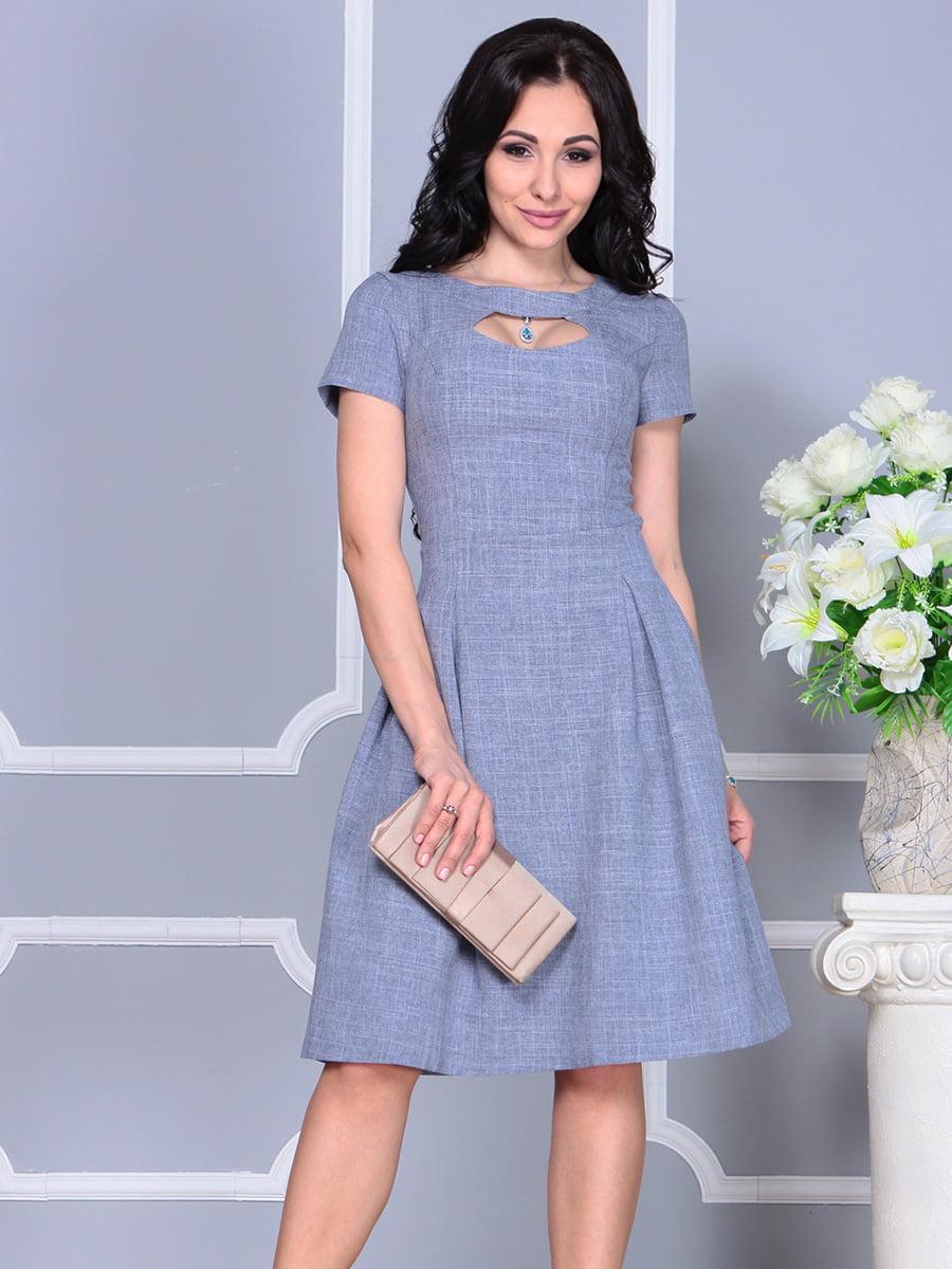 Платье цвета фиолетовой дымки | 4160885