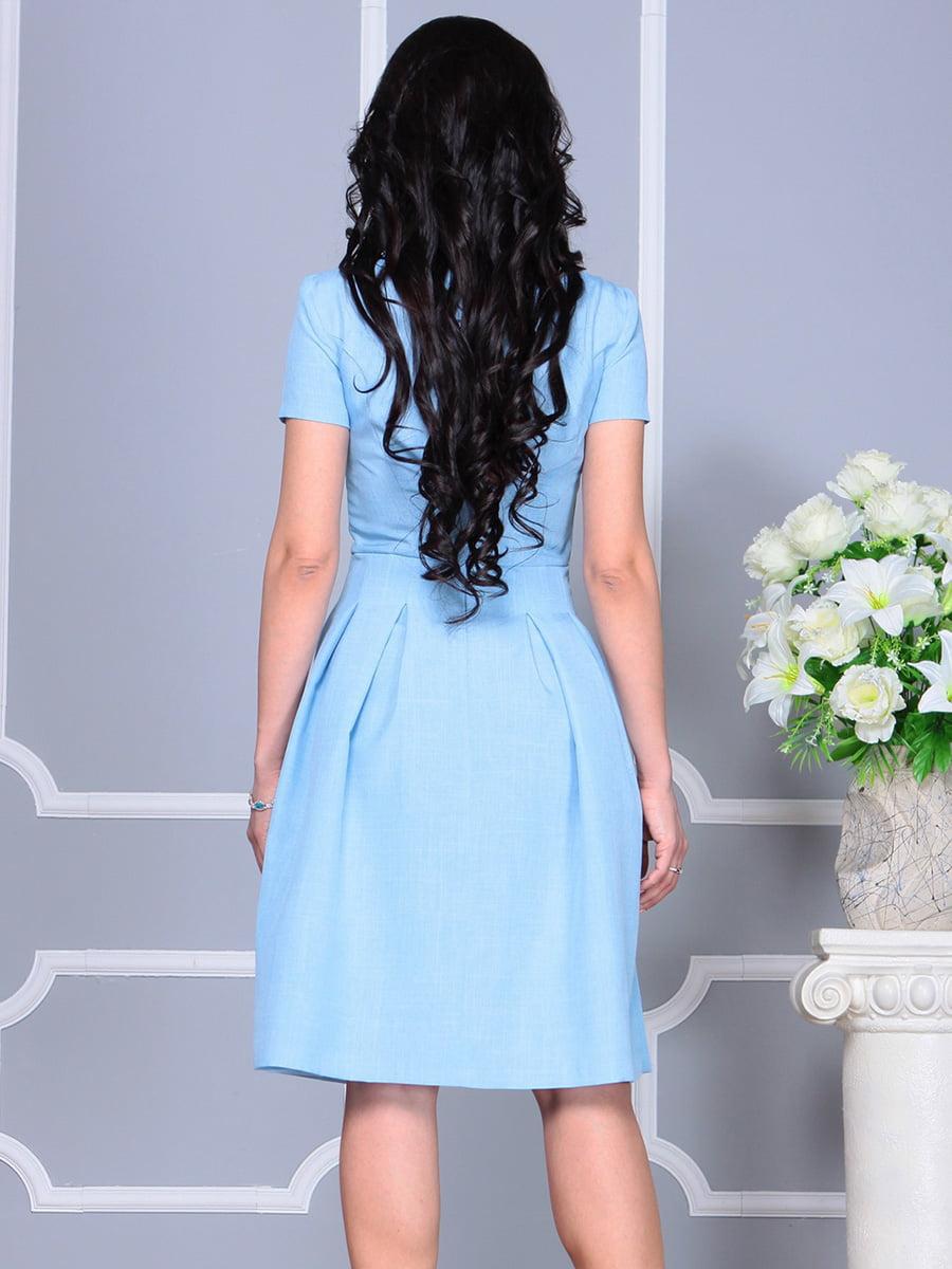 Платье голубое | 4160886 | фото 2