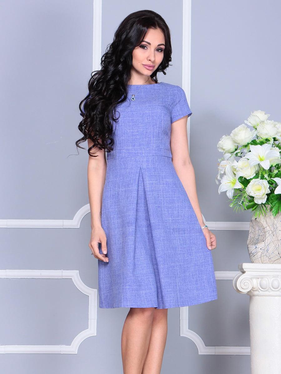 Платье сиреневое   4160890   фото 3