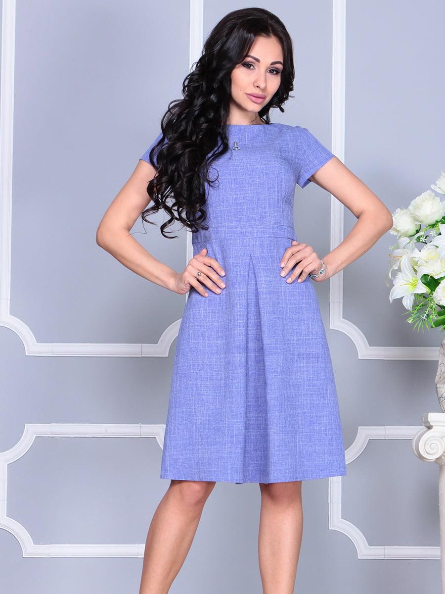 Платье сиреневое   4160890   фото 4