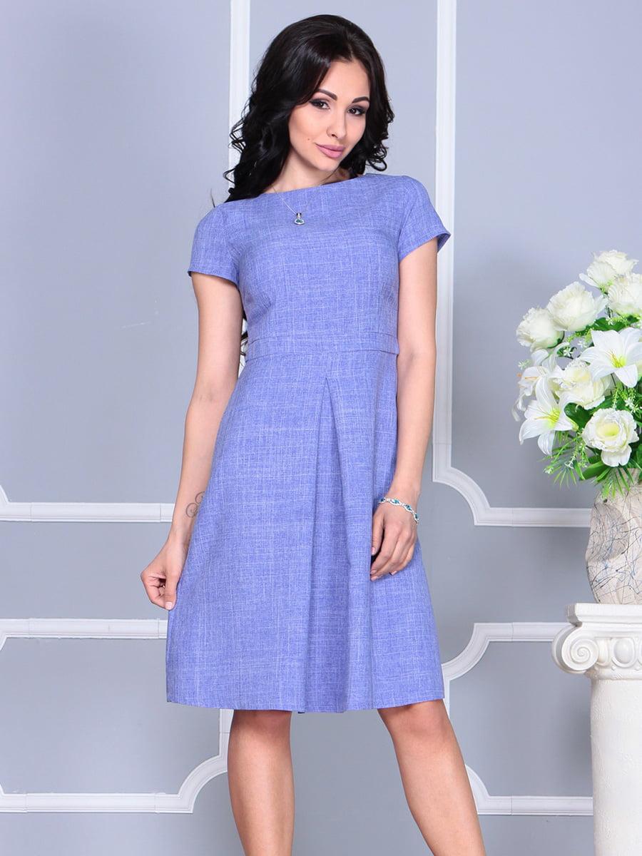 Платье сиреневое   4160890   фото 5