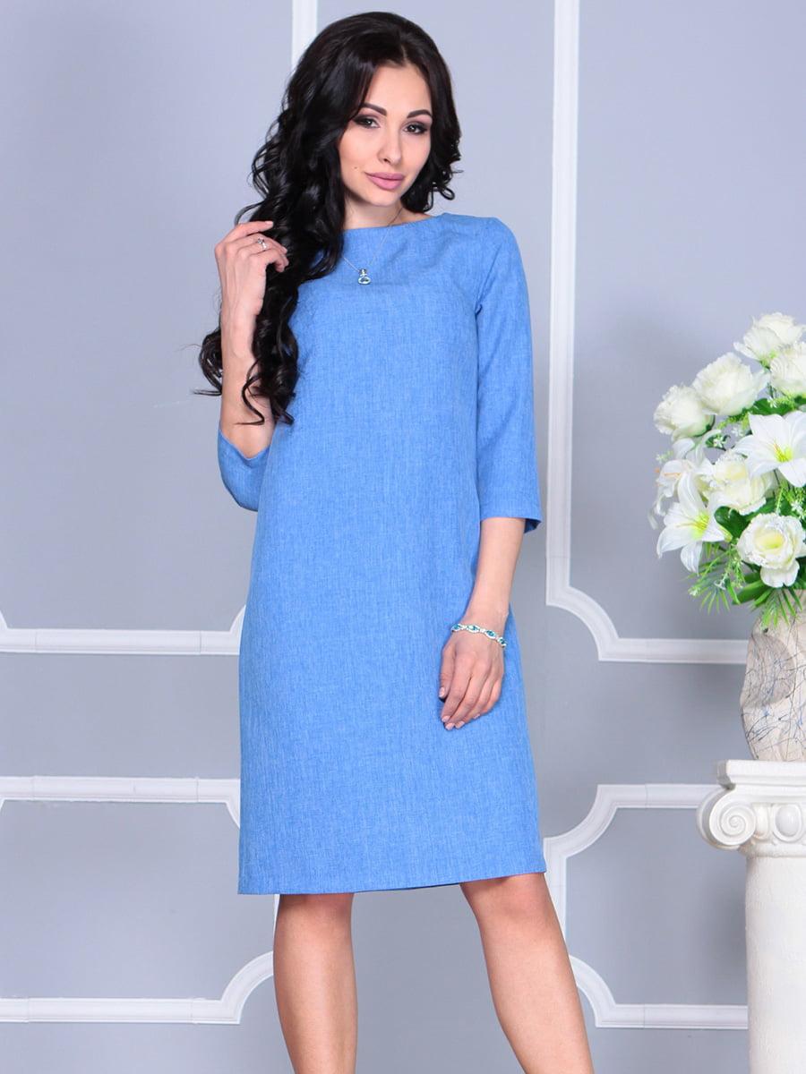 Сукня блакитна | 4160901