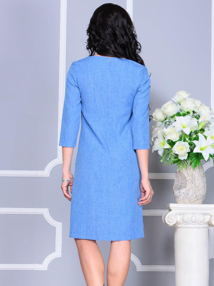Платье голубое | 4160901 | фото 2