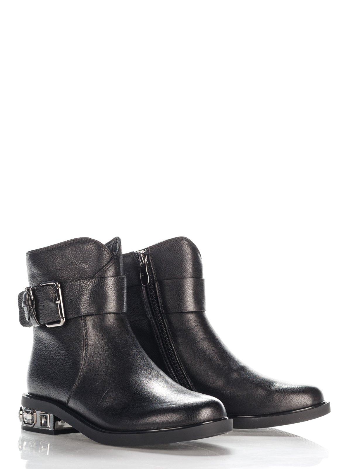 Ботинки черные   4137042