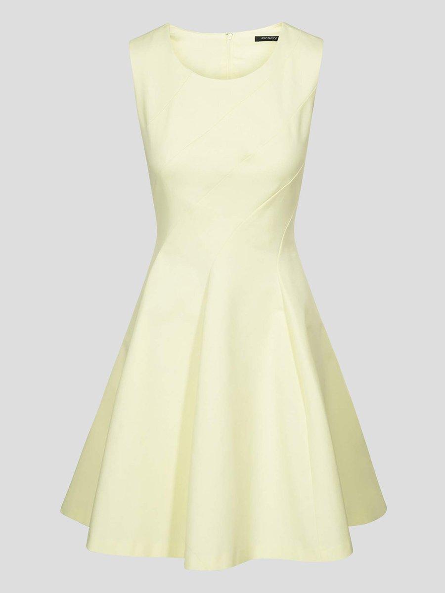 Сукня світло-жовта | 4161463