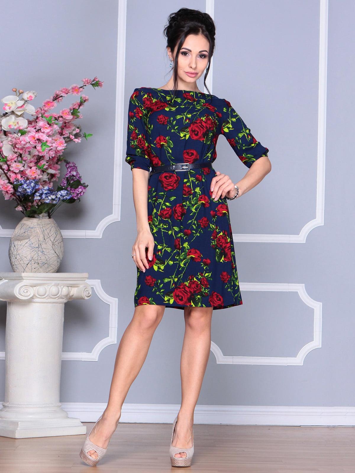 Сукня в квітковий принт | 4168862