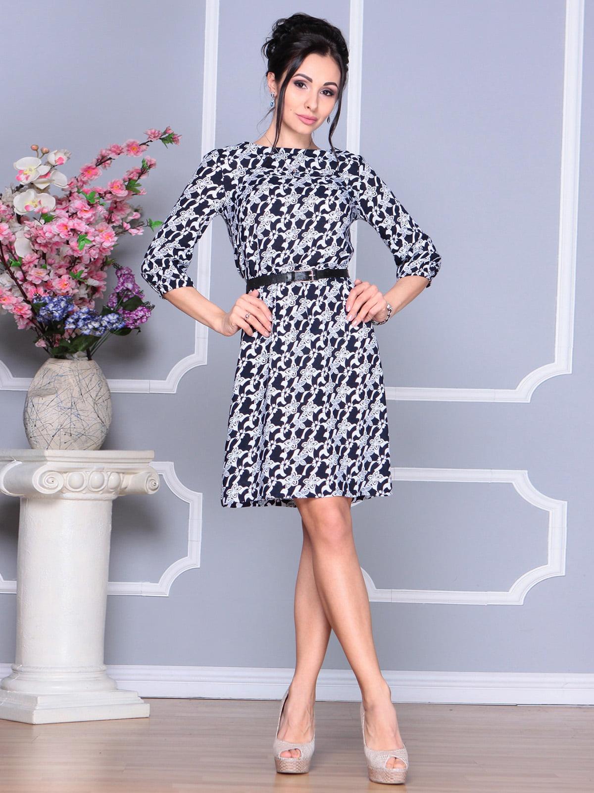 Платье в принт | 4168863