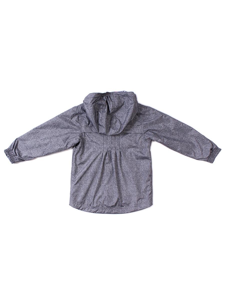 Куртка-ветровка серая   4169417   фото 2