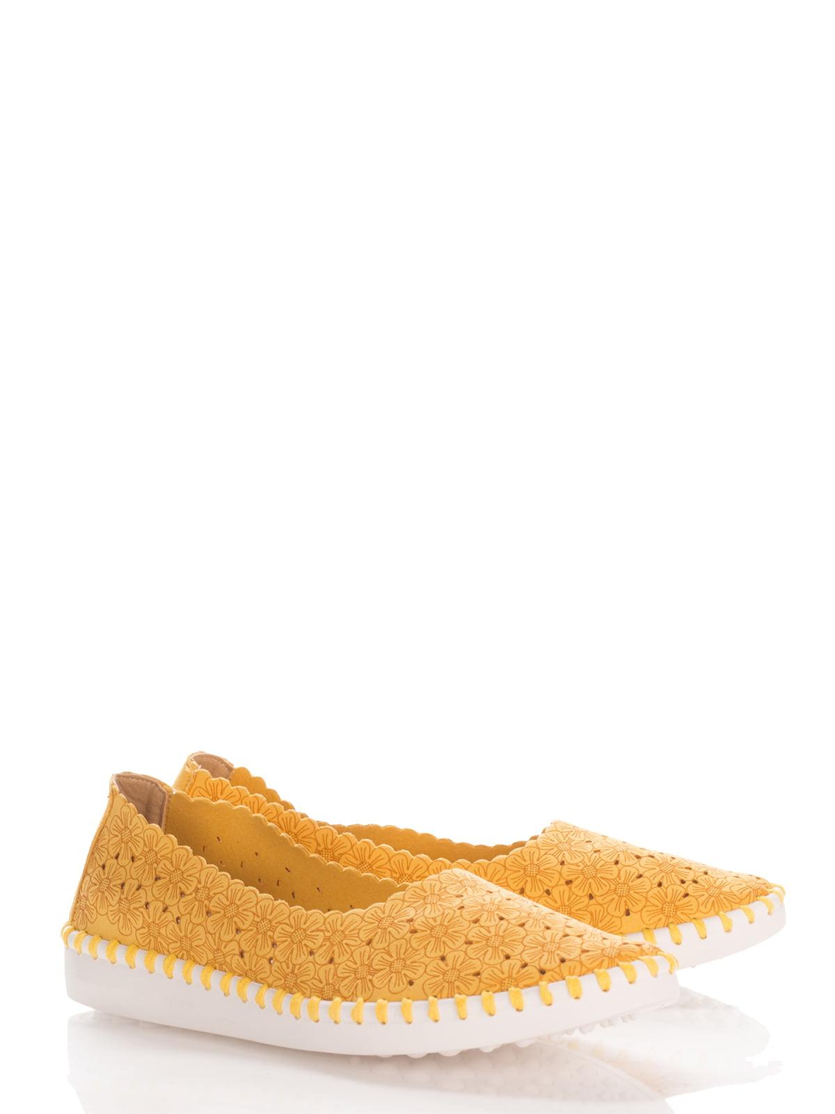 Балетки жовті | 4141966