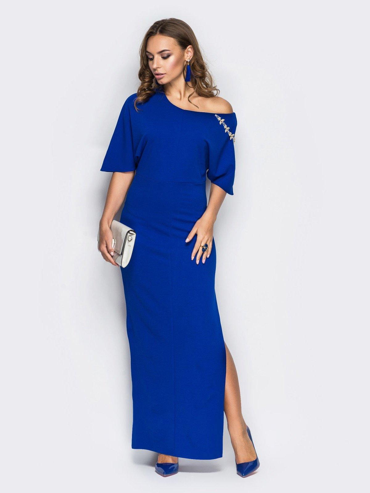 Платье цвета электрик | 4148732