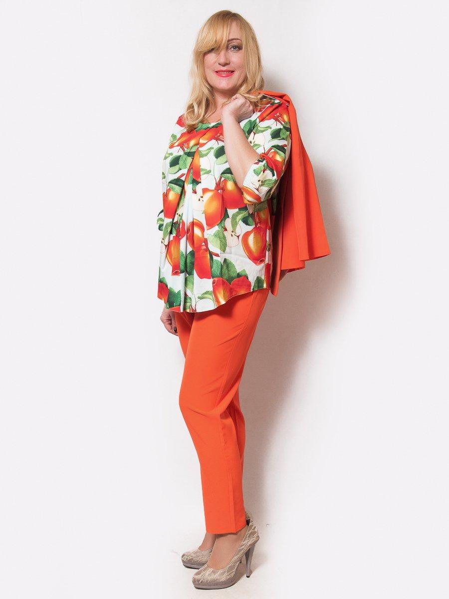 Костюм: блуза, жакет и брюки | 4175413
